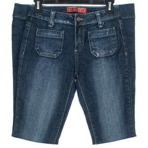 Zana Di Jeans Bootcut Patch Pocket Blue 3 GZ